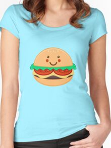BURGER Women's Fitted Scoop T-Shirt