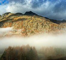 The Langdale Pikes by VoluntaryRanger