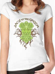 Jack O The Green Women's Fitted Scoop T-Shirt