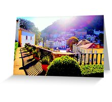 Sintra, welcome to paradise 240..sintra portugal.. Greeting Card