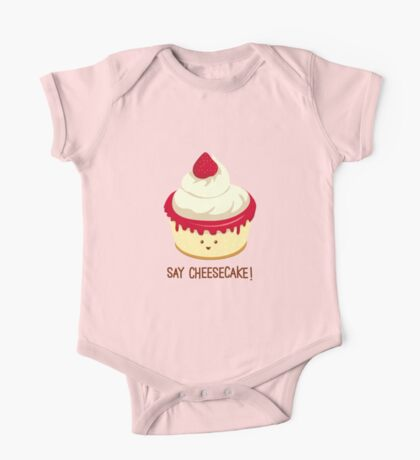 Say CheeseCake! One Piece - Short Sleeve