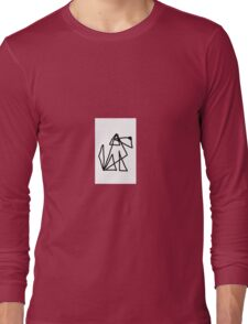 Triangle dog Long Sleeve T-Shirt