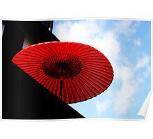 Japanese Parasol Poster