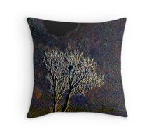 The Hole of Darkness Throw Pillow