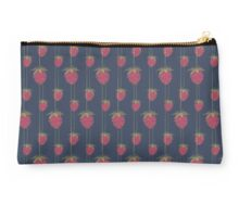 Sweet Hanging Strawberries Studio Pouch