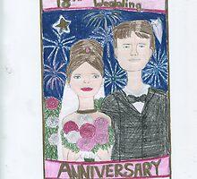18th Anniversary Wedding by DKards
