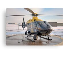 Suffolk Police Helicopter Canvas Print