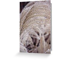 GROWING GRASSES GRACIOUSLY GREETING Greeting Card