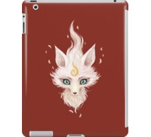 White Fox iPad Case/Skin