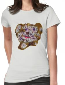 Scribbler Puppy Tee Womens Fitted T-Shirt
