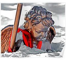 Snowbound Angel Poster