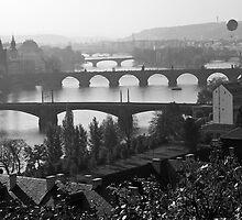 Prague Bridges by Lin-Ann Anantharachagan
