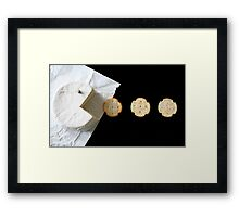 Pac-Man (Camembert Style!) Framed Print