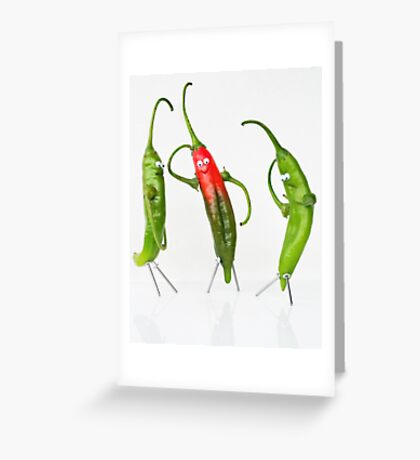 The Mysterious Case of Pepe, the Pepper. Greeting Card