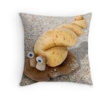 Cassavalus Shiitakilis - the Veggie Sea Snail Throw Pillow