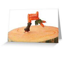 Pumpkin Skating... Greeting Card