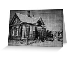 Little House on the Prairie Greeting Card