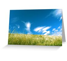 clear sky  Greeting Card