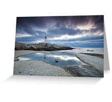 Peggy's Cove fisherman Greeting Card