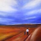 The Long Walk; pastels by pauldrobertson