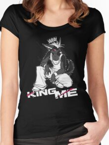 KING ME Women's Fitted Scoop T-Shirt