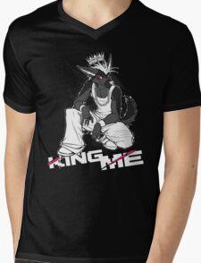 KING ME Mens V-Neck T-Shirt