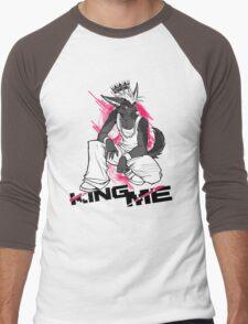 KING ME (white) Men's Baseball ¾ T-Shirt