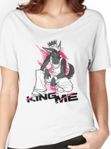 KING ME (white) Women's Relaxed Fit T-Shirt