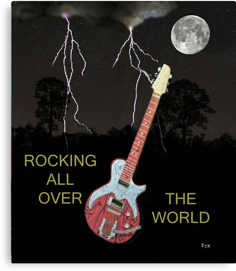 ROCKING ALL OVER THE WORLD by Eric Kempson