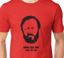 Slavoj Žižek - Portrait Unisex T-Shirt