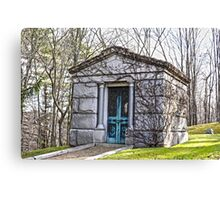 Tomb, Connecticut Canvas Print