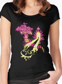 Opening the door of inner self Women's Fitted Scoop T-Shirt