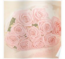 Roses are pink my love Poster