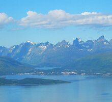 Tromso Mountains, Norway by trish725