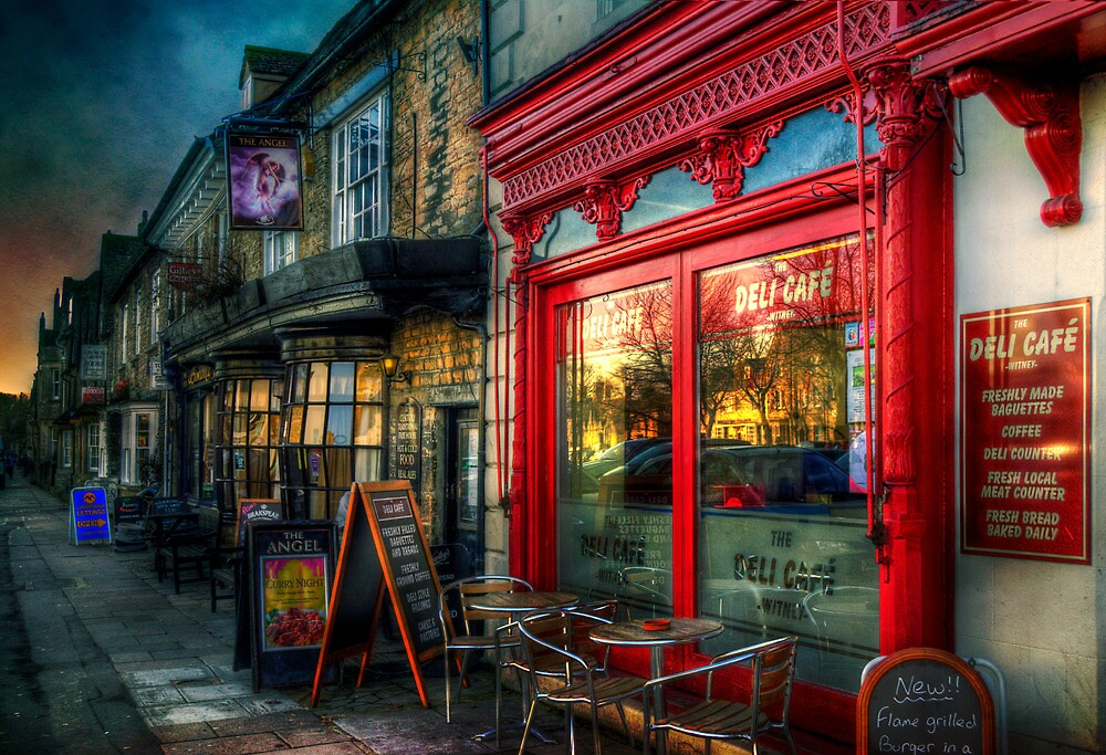 The Deli Cafe by ajgosling