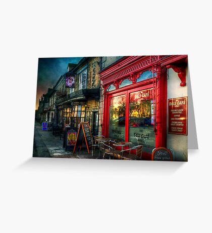The Deli Cafe Greeting Card