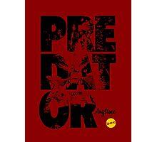 More Than Words - Predator Photographic Print