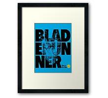 More Than Words - Blade Runner Framed Print