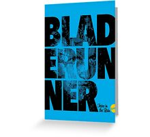 More Than Words - Blade Runner Greeting Card