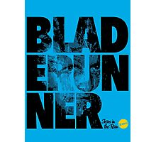 More Than Words - Blade Runner Photographic Print