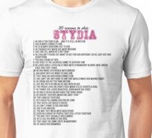 30 reasons to ship Stydia Unisex T-Shirt