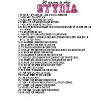 30 reasons to ship Stydia Photographic Print