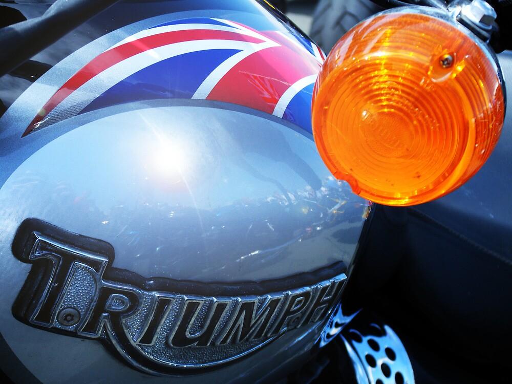 A very British Triumph by Chris Cardwell