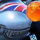 A very British Triumph by Chris Cardwell