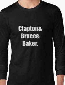 Clapton&Bruce&Baker Long Sleeve T-Shirt