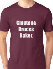 Clapton&Bruce&Baker Unisex T-Shirt