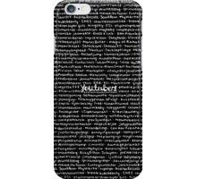 YOUTUBE iPhone Case/Skin