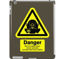 Sontaran Danger! iPad Case/Skin