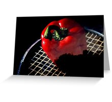 Red Dot Greeting Card