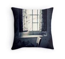 Loss ~ West Park Asylum Throw Pillow
